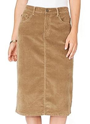AmeriMark Corduroy Skirt