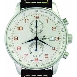 Zeno Master Pilot Chronograph Bi-Compax Replica Ref. P557 BVD RWWW-SV