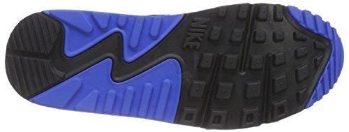 Nike Air Max 90 Essential - Zapatillas de running Mujer Azul (401 midnight navy/sr-blk-pr pltnm)
