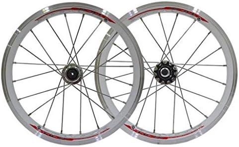 AIFCX 16 Pulgadas Juego de Ruedas de Bicicletas, Sellado Velocidad ...