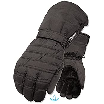Amazon.com: Olympia 6000 Mustang I Winter Gloves (Black, X