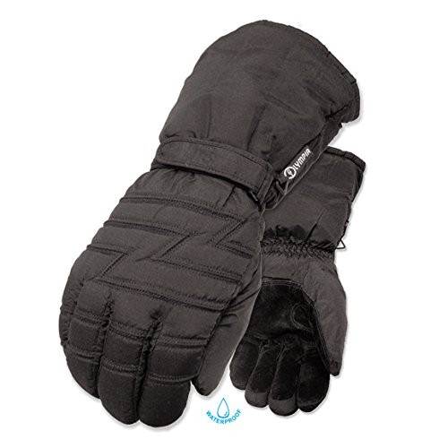 Olympia 6000 Mustang I Winter Gloves (Black, Large) ()