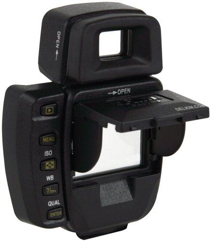 - Delkin Pop-up Shade Nikon D-70 Block Glare & Protect LCD Pro-snap