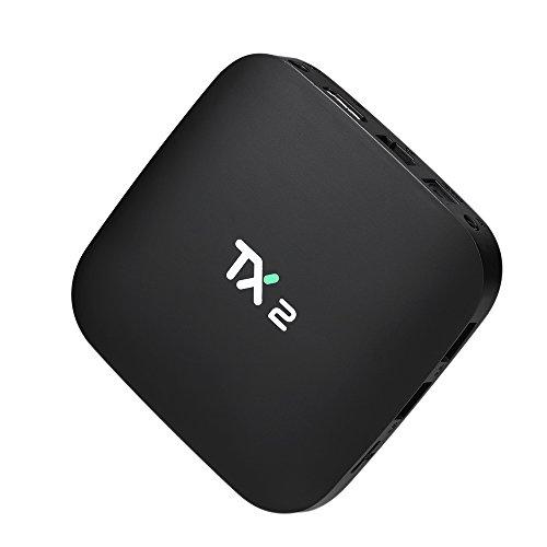 YIMOHWANG TX2 Smart Android 6.0 Smart Tv Box 2GB RAM 16GB ROM 2.4GHz WiFi 4K H.265 DLNA AirPlay 4K Media Player TX2 R1 R2