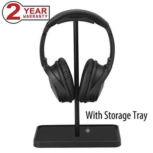 Price comparison product image Headset Holder for Desk,  Headphone Stand Hanger for Sennheiser,  Sony,  Audio-Technica,  Bose,  Beats,  AKG