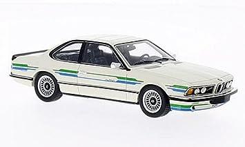 BMW Alpina B7 Turbo Coupe, blanco con Decorado , 1985, Modelo de Auto,