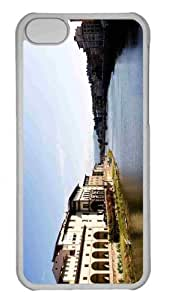 Customized iphone 5C PC Transparent Case - Florence Landscape Personalized Cover