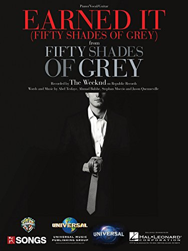 The Weeknd - Earned It (from Fifty Shades of Grey) - Sheet Music Single