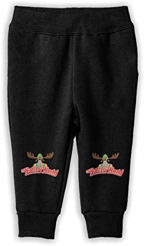 Wally World ロングパンツ スウェットパンツ 男の子 女の子 キッズ 日常 通学 カジュアル 吸汗 伸縮性 通気性 耐久 春秋 肌触りよく ソフト 下着 入学式
