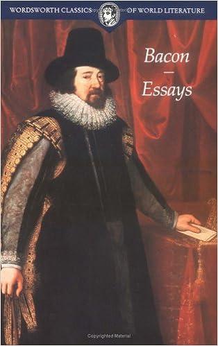 Francis bacon essays