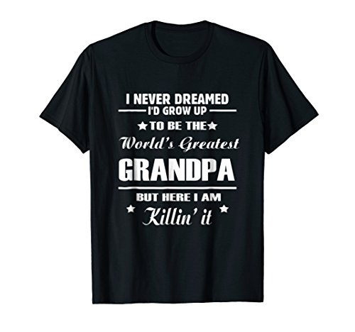 The World's Greatest Grandpa T-Shirt, Father's Day Gift (Worlds Greatest Grandpa T-shirt)