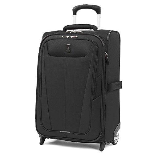 Travelpro Maxlite 5 22'' Expandable Rollaboard Carry-on Suitcase, Black by Travelpro