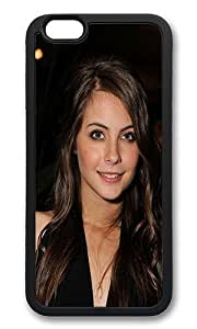 iPhone 6 Back Case - Willa Holand Celebrity Star Actress TPU Bumper Case for iPhone 6 4.7 Inch Black