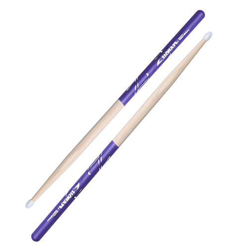 Zildjian 5B Nylon Purple Dip Drumsticks