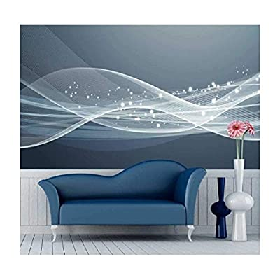 Made to Last, Lovely Creative Design, Large Wall Mural Gorgeous Lines and Patterns Vinyl Wallpaper Removable Decorating