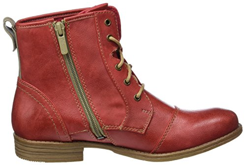 Mustang Damen 1157-543-5 Combat Boots Rot (5 Rot)