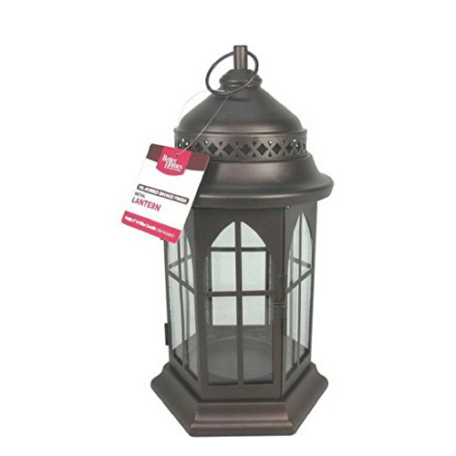 Dragonfly Mesh Candle Holder - Better Homes and Gardens Metal Lantern, Oil-Rubbed Bronze