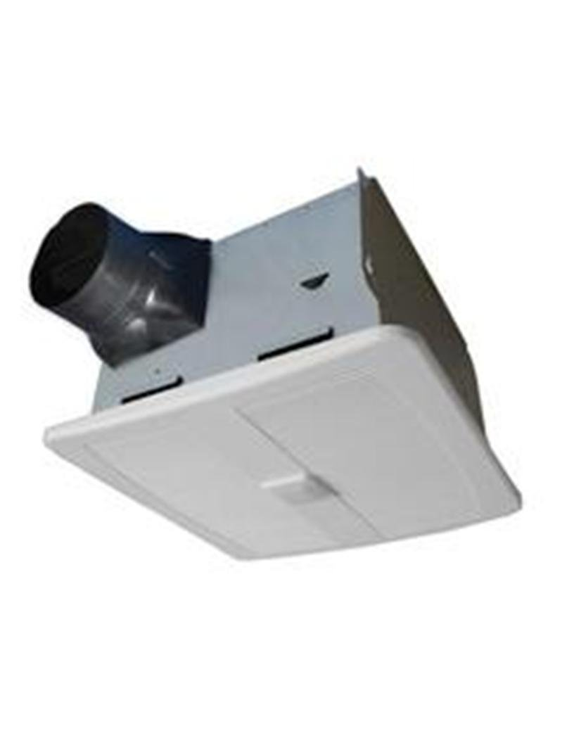 Image of AirZone Fans SE110MH Exhaust Ventilation Fan with Motion and Humidity Sensors, Ultra Quiet, 90 CFM Ventilation Fans