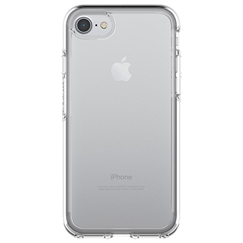 OtterBox SYMMETRY CLEAR SERIES Case for iPhone 8 / 7 (ONLY) - Retail Packaging - CLEAR (CLEAR/CLEAR) (Piece Series One)