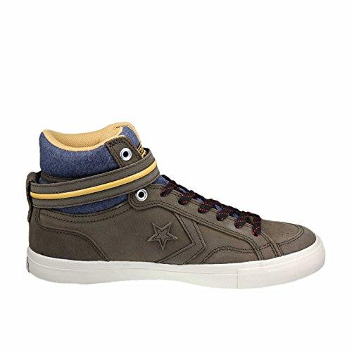 Convere 153735c - Zapatillas de Piel para hombre Braun Kombi