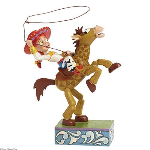 Jim Shore Disney Traditions Jessie and Bullseye Figurine, 8