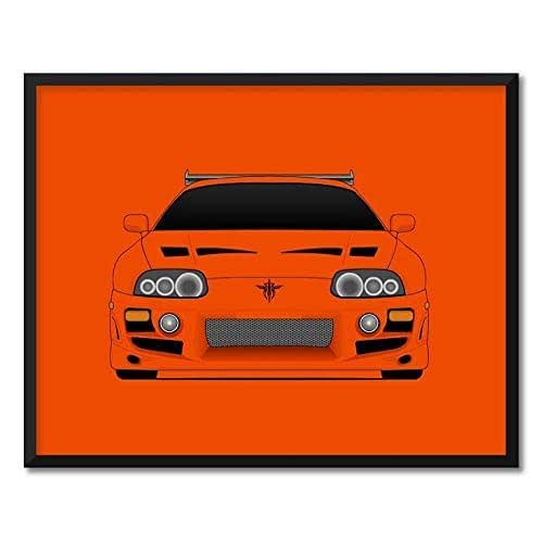 Poster Inspired by Toyota Supra MK4 from the Fast and the ...