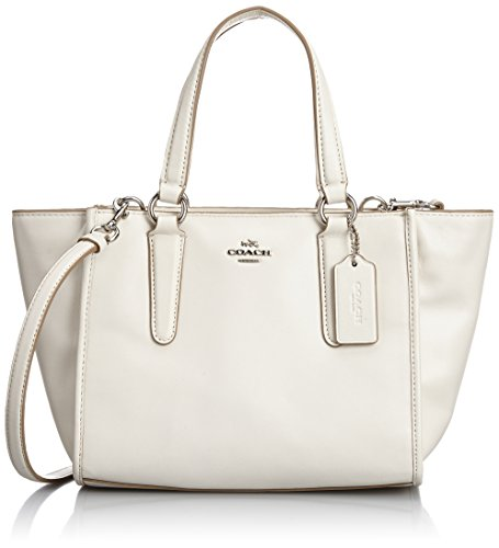 Coach Smth Womens Leather Satchel