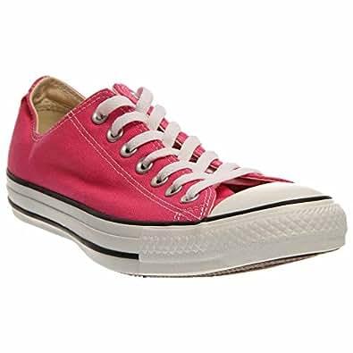 Converse Unisex Low Chuck Taylor Canvas Sneaker (12 D(M) US, Pink Paper)
