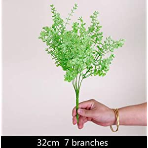 FYYDNZA Garden Artificial Plastic Plant In The Form Of Leaf Grass Plants For Home Decoration Wedding,Color 1 34
