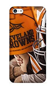 Awesome Fcewuo-1509-pugqdeu Armandcaron Defender Tpu Hard Case Cover For Iphone 5c- Cleveland Browns Nfl Football Ru