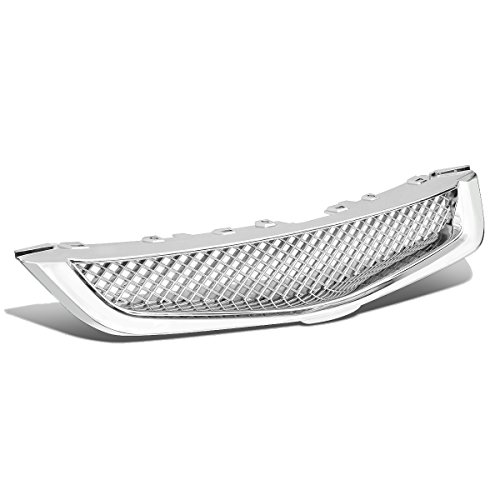 - DNA Motoring GRF-057-CH Chrome Front Bumper Grille Guard [For 03-05 Honda Accord 4-DR]