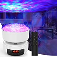 Galaxy Projector Star Projector, 3 in 1 Night Light Projector with Remote Control/Built-in Music/Timer Functio