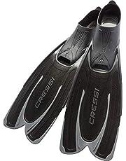 Cressi Agua Premium fenor självjusterande för dykning, apné, snorkling och simning