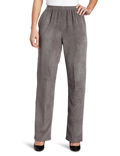 Alfred Dunner Women's Proportioned Medium Pant