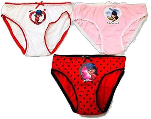 Ladybug Costume da Bagno Slip Bambina