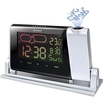 amazon com oregon scientific bar339pa projection atomic clock with rh amazon com Oregon Scientific Projection Alarm Clock Oregon Scientific Clock Projection Ceiling