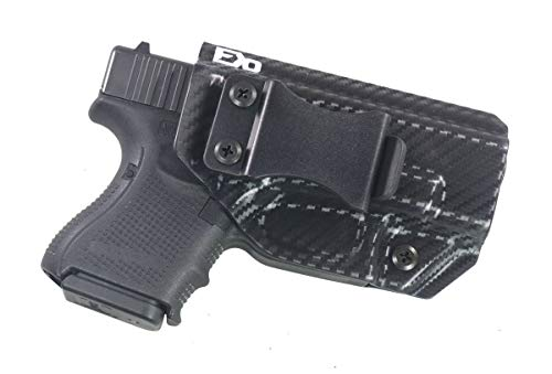 Fierce Defender IWB Kydex Holster Glock 26 27 33' Winter Warrior Series (Carbon Fiber)