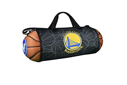 Maccabi Art Golden State Warriors Basketball to Duffle Bag, Sports Fan Official NBA