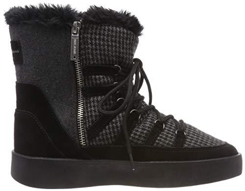 Pepe Femme Noir Neige Brixton Snow de Bottes Jeans 999 Black OwaOqrv