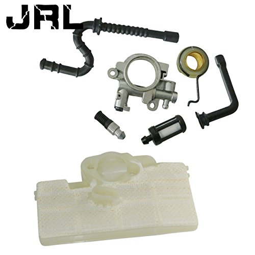 JRL Air Filter Parts Oil Pump Worm Drive Gear Spring Fit Stihl MS290 MS390 Chainsaw