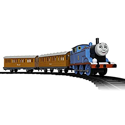 Lionel Thomas & Friends Battery-powered Model Train Set Ready to Play w/ Remote: Toys & Games