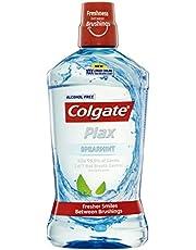 Colgate Plax Antibacterial Alcohol Free Bad Breath Control  Mouthwash Spearmint 1L