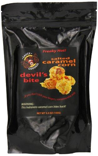 Sauce Goddess Salted Caramel Corn, Devil's Bite, 3.5 Ounce (Salted Sweet Sauce)