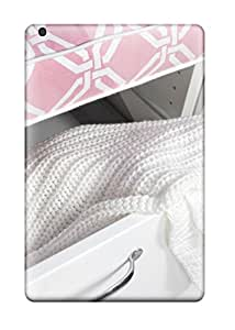 Megan S Deitz's Shop New Arrival Case Specially Design For Ipad Mini (white Drawer With Pink Top 038 White Knit Coverlet) 8653896I99992079