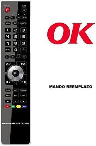 Mando TV Ok OLE1915O-B: Amazon.es: Electrónica