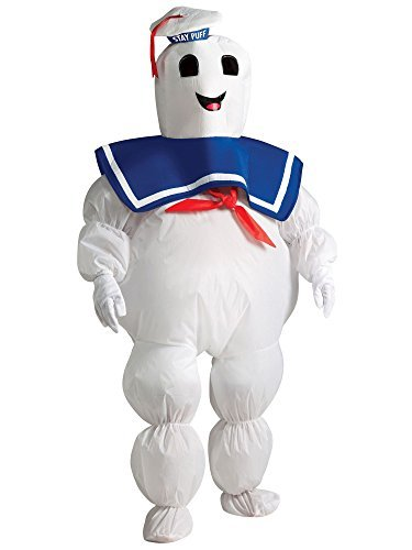 Kids Stay Puft Costumes (Inflatable Stay Puft Marshmallow Man Child Costume - One Size)