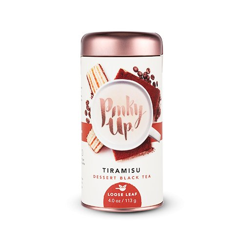 Pinky Up Tiramisu Dessert Black Loose Leaf Tea, 4 Ounce (Tiramisu Dessert)
