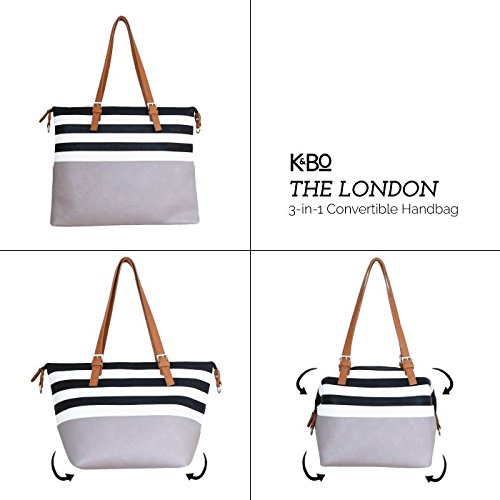 Womens 3-in-1 Convertible Tote Bag