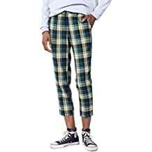 Wildfang The Styles Plaid Cropped Pant