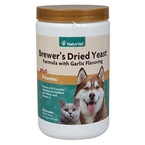 Brewers Yeast Fortified with Garlic - 16 oz Powder